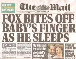 daily mail fox attack