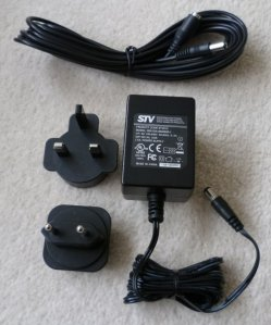 stv610 inc mains adaptor