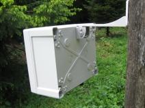Sentinel 1 way ultrasonic cat bird pigeon fox badger repeller deterrent rear