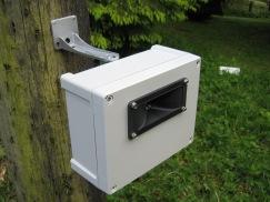 Sentinel 1 way ultrasonic cat bird pigeon fox badger repeller deterrent side 1