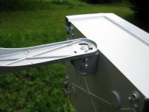 Sentinel 4 way ultrasonic cat bird pigeon fox badger repeller deterrent mounting bracket 2